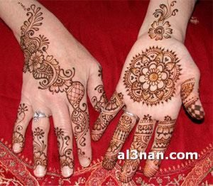 -احدث-نقش-حناء-هندي-واماراتي-للعروس_00076-300x262 صور احدث نقش حناء هندي و اماراتي