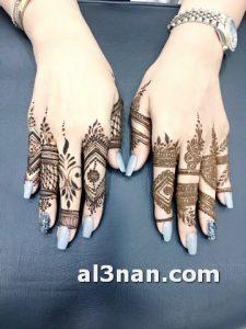 صور-اروع-نقش-حناء-اصابع-خليجي-للعروس_00157-225x300 صور اروع نقش حناء اصابع خليجي للعروس