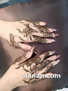 صور-اروع-نقش-حناء-اصابع-خليجي-للعروس_00159-225x300 صور اروع نقش حناء اصابع خليجي للعروس